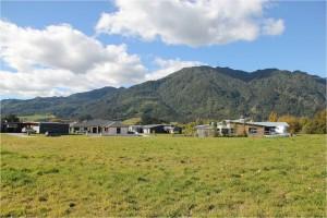 Neubaugelände in der Provinz Waikato
