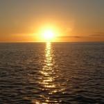 Sonnenuntergang in der Fantail Bay