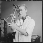 Sextant at Dominion Museum (ATL EP/1957/3759-F)