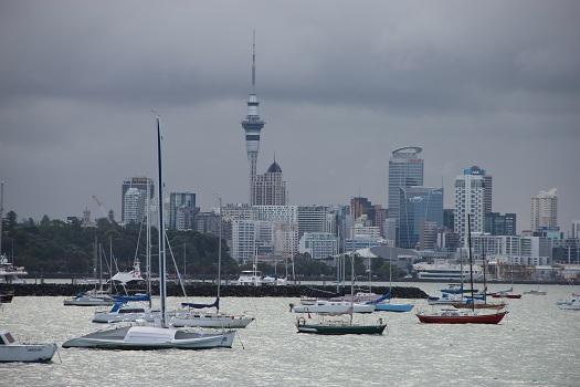 Auckland aus Okahuwinkel