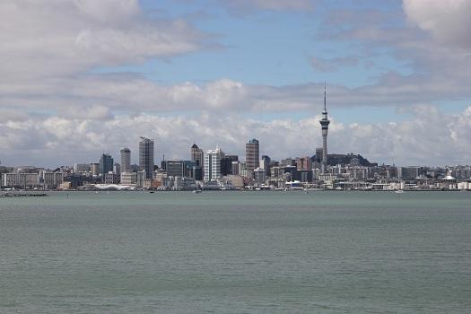 Auckland aus normaler Brückensicht
