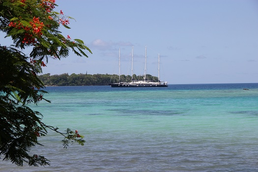 Vanuatu Phocea beschlagnahmte Superjacht irgendwelcher Ganoven