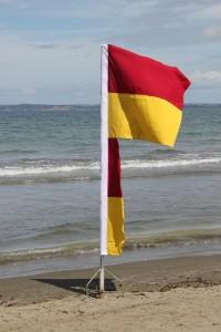 Wenderholm Surf Life Savers Badeflagge