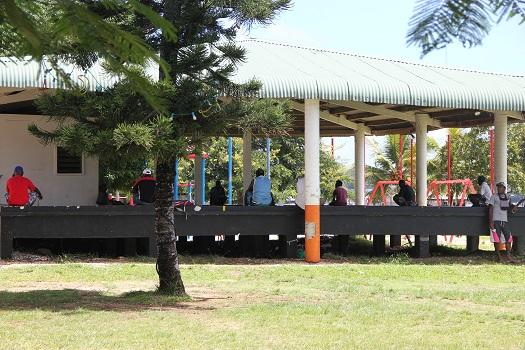 Port Vila: Abhängen zur Mittagszeit