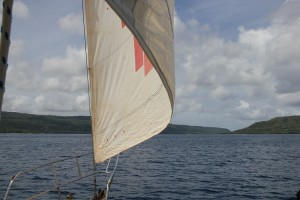 Mit der Golden Wing unterwegs nach Hat Island