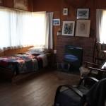 Frank Sargesons Wohnküche nach Nordost