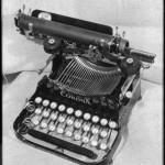 Katherine Mansfields Schreibmaschine