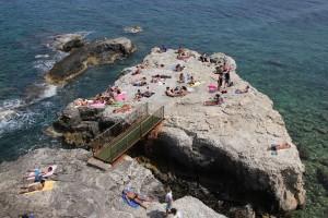 Dolce Vita in Syracusa, Sizilien - nicht ganz passend, aber schön :-)