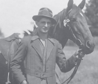 George Dibbern in Dannevirke, Neuseeland, 1917