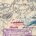 George Dibbern: Postkarte rund um die Welt