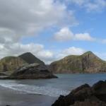 Whatipus Küstenlinie ist voller kleiner Inselchen