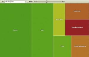 """Screenshot """"Welt"""" Preisatlas vom 12 August 2013: (c) billigflieger.de"""