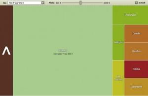 "Screenshot ""Neuseeland"" Preisatlas vom 12 August 2013: (c) billigflieger.de"