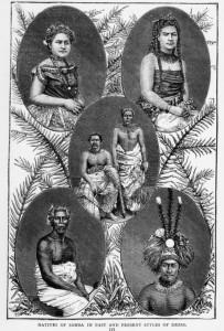 Samoaner, ca. 1894 - ATL Ref: PUBL-0061-121