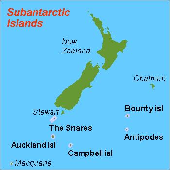 Die subantarktischen Inseln Neuseelands