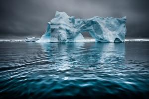 Blauer Eisberg Antarktika (c) Gunther Riehle