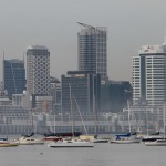 Auckland Skyline: Büros und Apartments