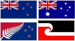Antipodische Flaggenkunde: NZ, AUS, Lockwood Design und Māoriflagge