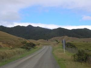 In Neuseeland häufig anzutreffen: ungeteerte Pisten