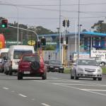Straßenverkehr in Auckland