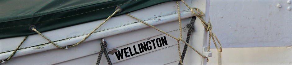 Boat in Wellington, New Zealand