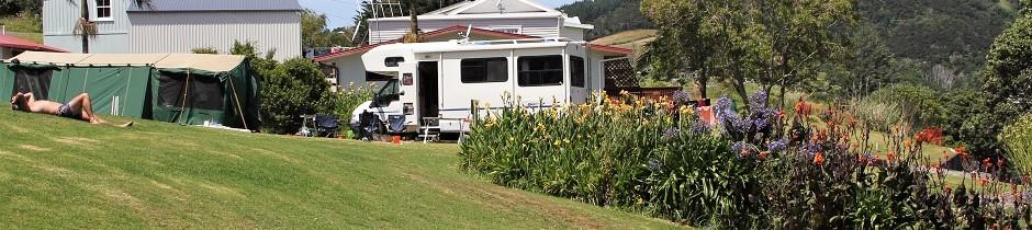 Campervan bei Whangarei