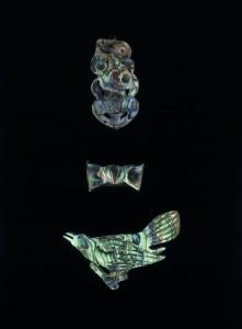 Von italienischen Internierten während des Zweiten Weltkriegs gefertigte Paua-Andenken