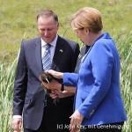 Merkel, Key, Kiwi