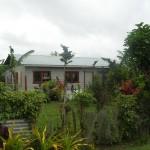 Typisches Haus in Tonga