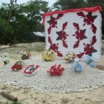 Polynesisches Grab
