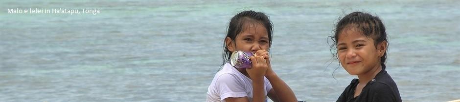 Malo e lelei in Ha'atapu, Tonga