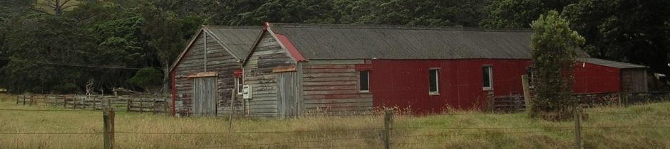 Barns, Coromandel, New Zealand