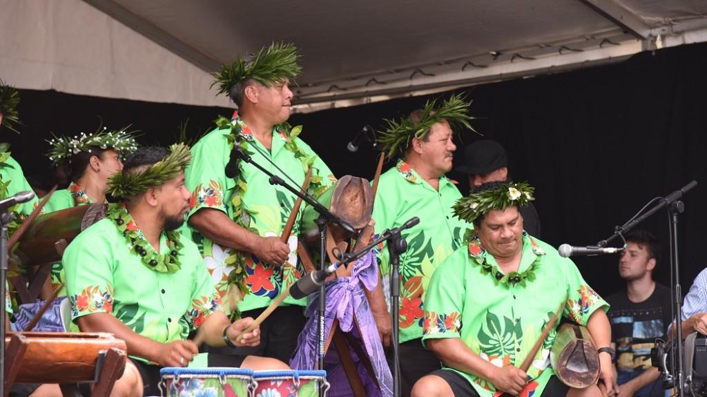 Polynesische Trommeln