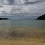 Torrent Bay, rostige Sedimente