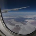 Mit Air NZ über Zentralaustralien: interessante Salzseen