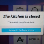 Air NZ: the kitchen was open!