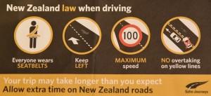 Schnellkurs am Lenker: ein Flyer mit den wichtigsten Verkehrsregeln