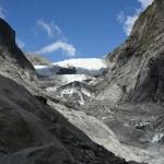 Die Gletscherzunge hat sich in den letzten Jahren wieder zurückgezogen (c) NZ2Go.de