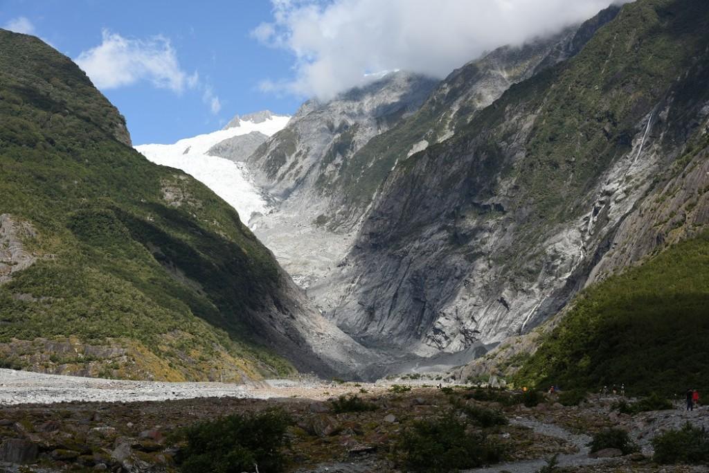 Gemütlicher Spaziergang zur Gletscherzunge (c) NZ2Go.de