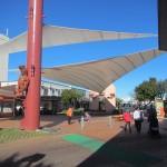 Beschauliches Kleinstadtleben: Hinemoa Street Rotorua City Centre (c) unterkiwis.de
