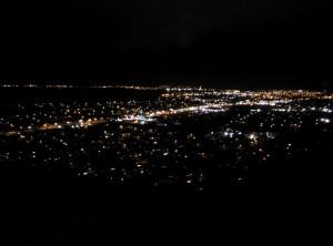 Rotorua bei Nacht ... immerhin (c) unterkiwis.de