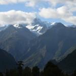 Zum Abend hin zeigt sich Mount Cook