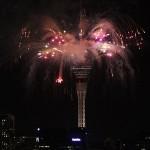 Skytower Silvesterfeuerwerk