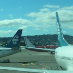 Der Doppel-Koru von Air New Zealand.