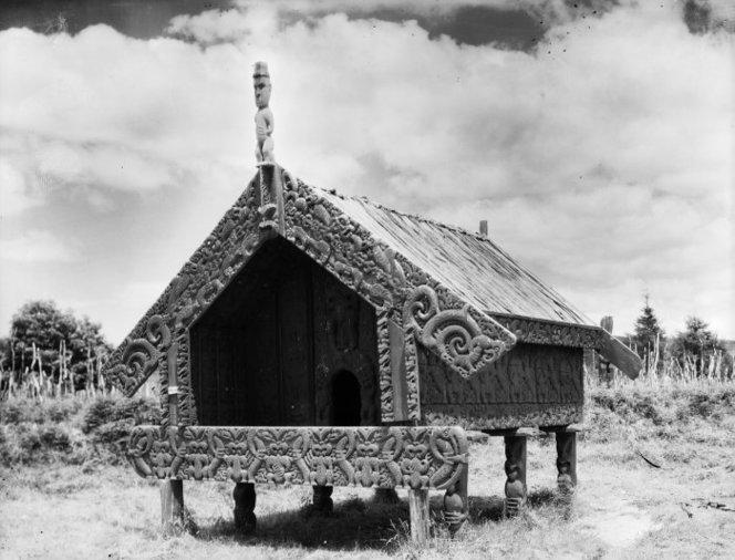 Ein beeindruckendes pataka, das inziwschen leider verloren gegangen ist (c) ATL Wellington