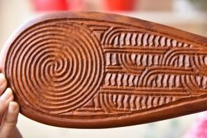 Kein Rauponga Muster, aber dafür ganz typische Überlappungen.