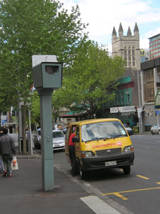 Blitzer in Auckland