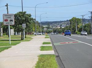 T2 Transit Lane