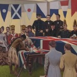Artist's impression of the signing of the Waitangi Treaty /records/22308135 (c) ATL Wellington