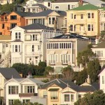 Victorian houses, Wellington, New Zealand